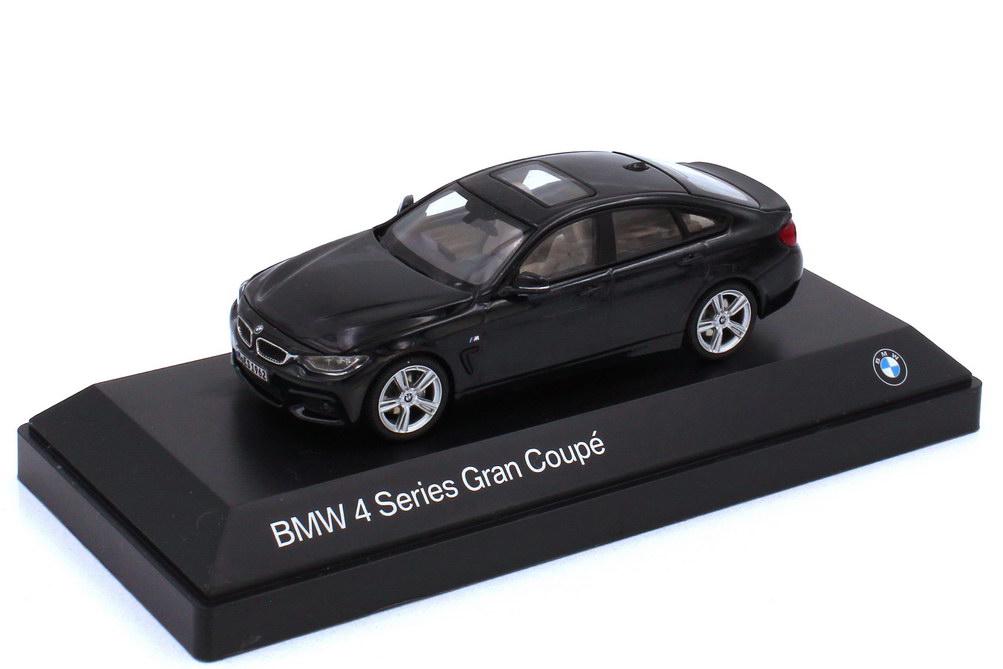 1:43 BMW 4er Gran Coupé (F36) carbonschwarz-met. (BMW)