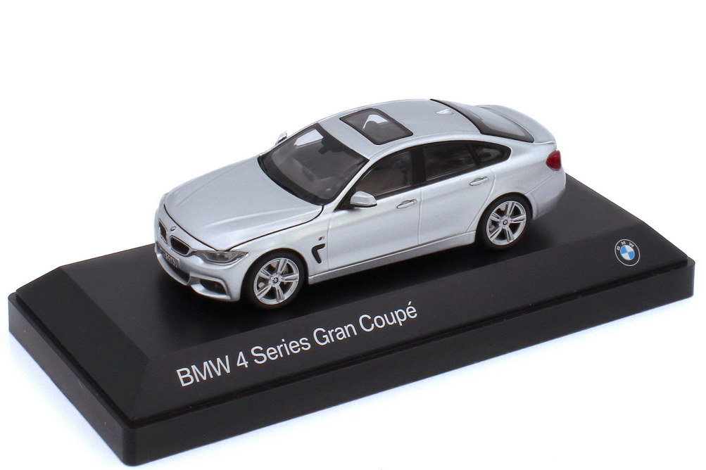 1:43 BMW 4er Gran Coupé (F36) glaciersilber-met. (BMW)