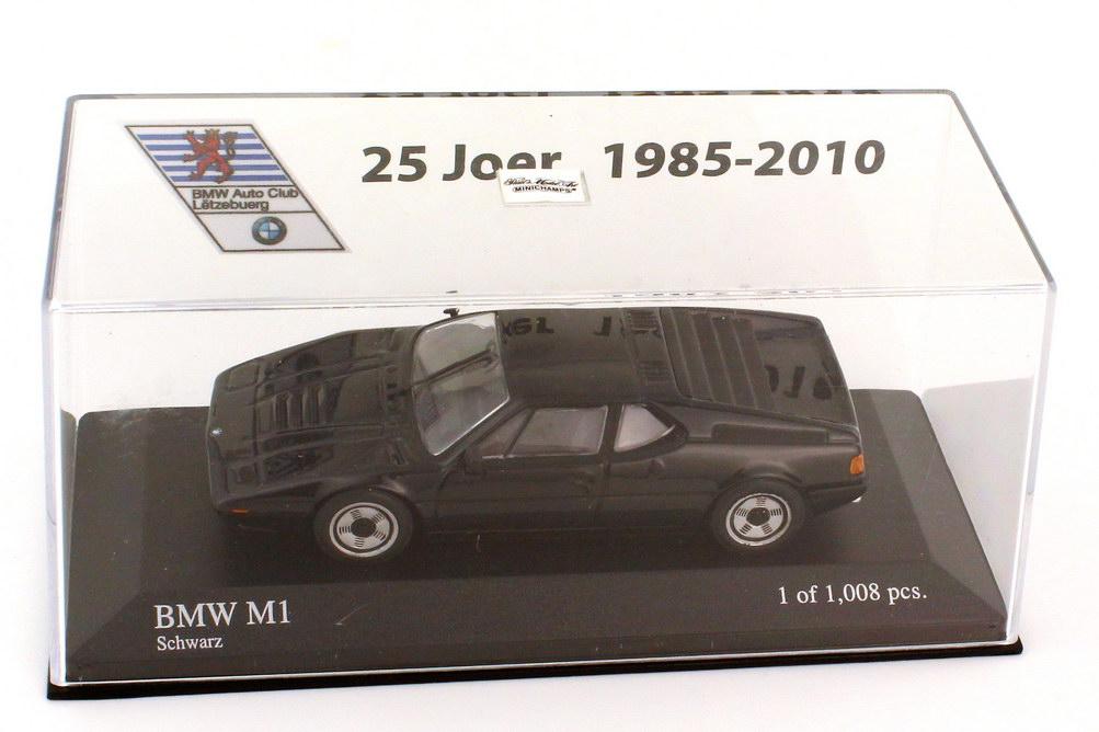 1:43 BMW M1 (E26) schwarz