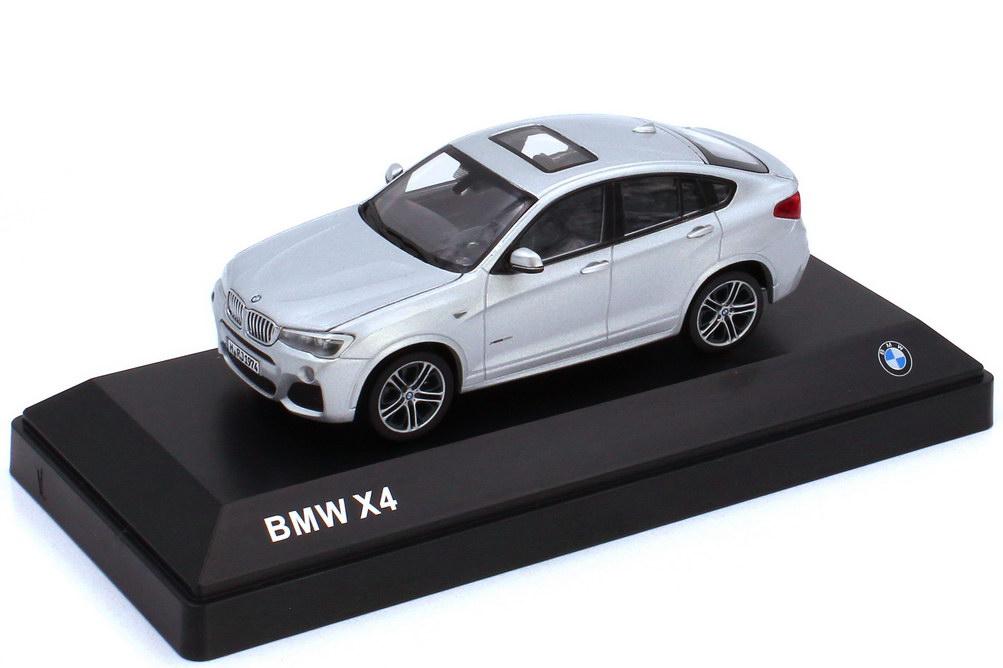 1:43 BMW X4 (F26) glaciersilber-met. (BMW)
