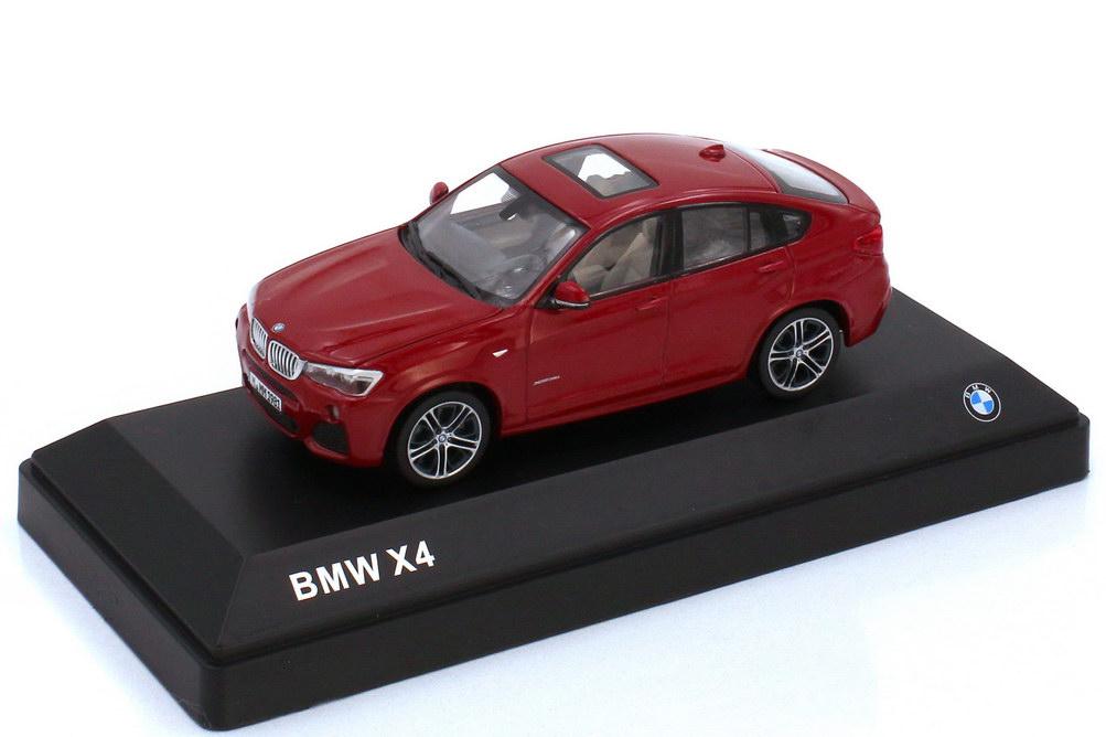 1:43 BMW X4 (F26) melbourne-rot-met. (BMW)