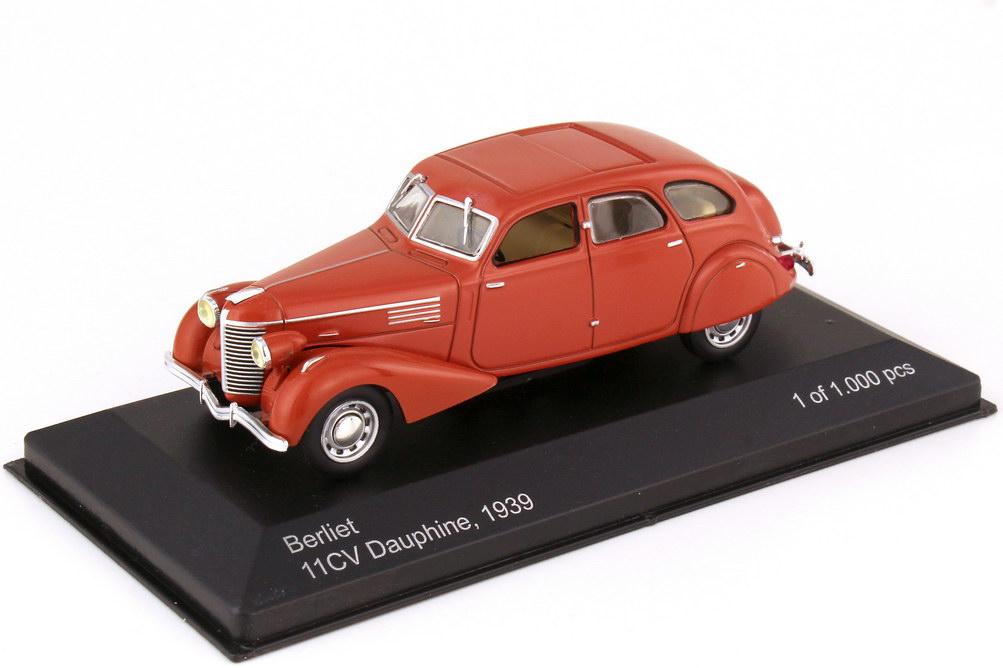 1:43 Berliet Dauphine 11CV 1939 rotbraun