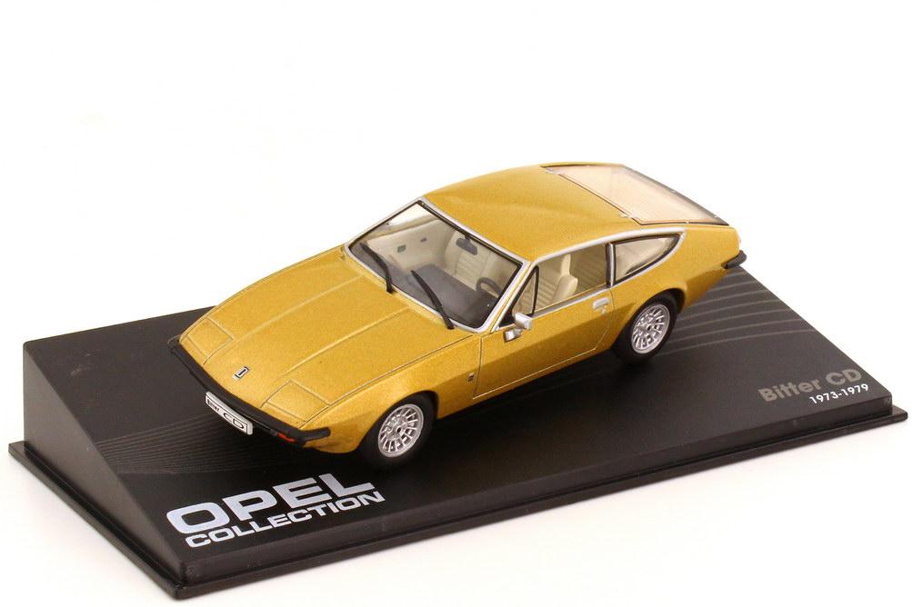 Foto 1:43 Bitter CD gold-met. - Ixo Altaya Opel Collection 48