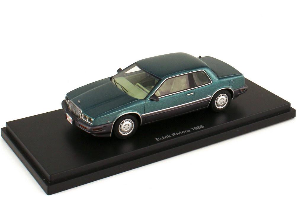 1:43 Buick Riviera 1988 türkis-met./grau