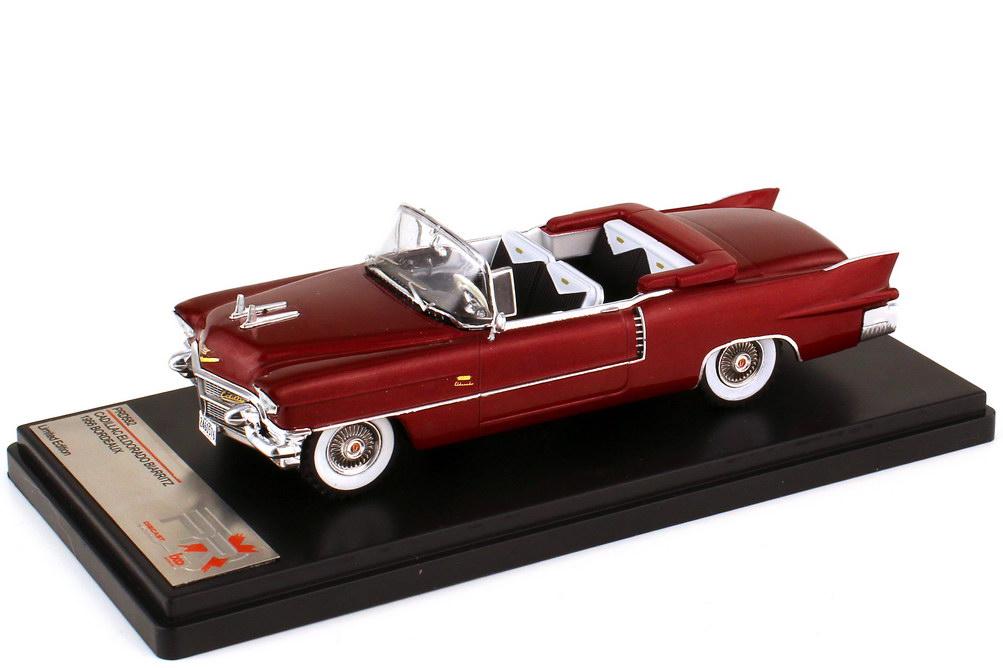 1:43 Cadillac Eldorado Biarritz 1956 bordeauxrot-met.
