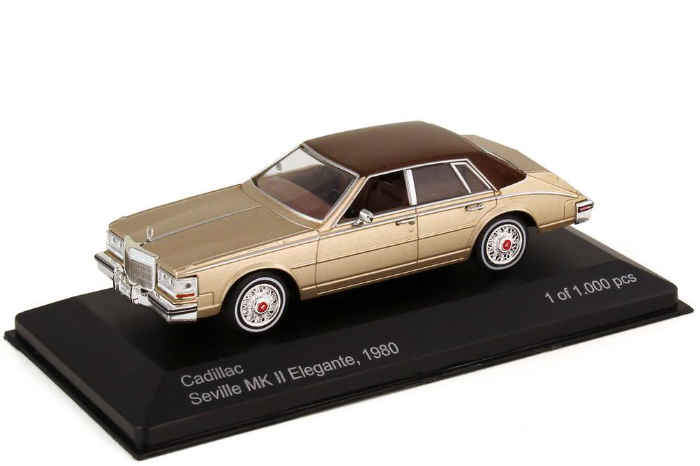1:43 Cadillac Seville MK II Elegante 1980 beige-met. / braun