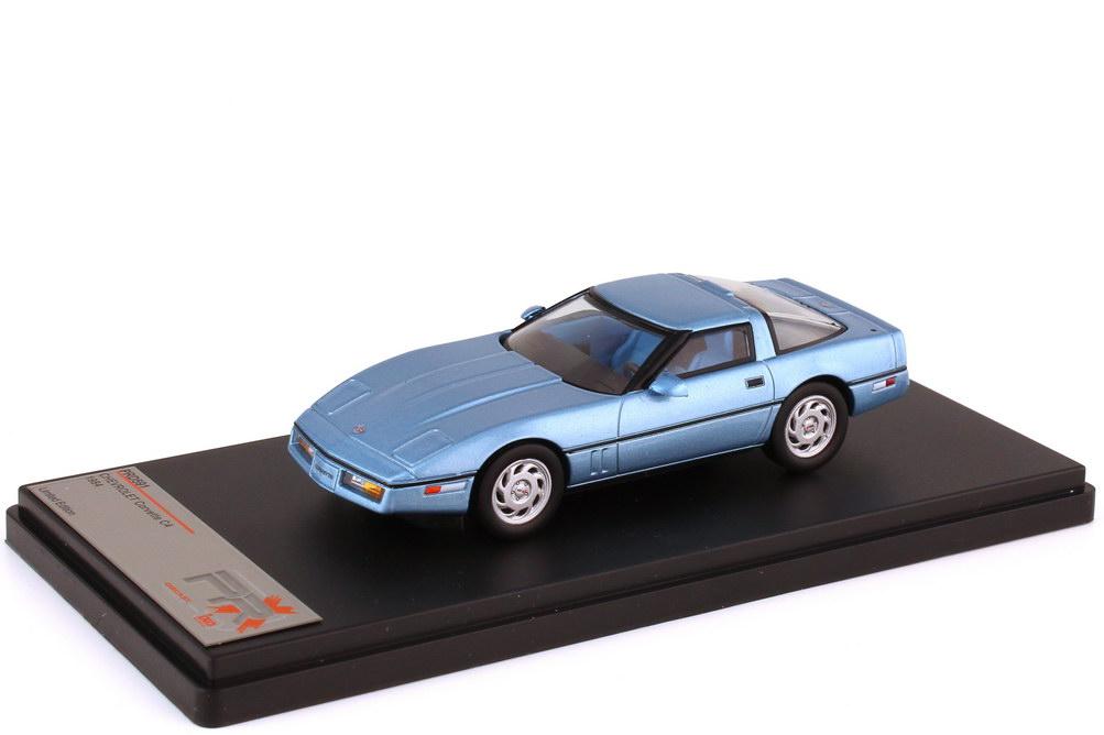 1:43 Chevrolet Corvette (C4, 1984) hellblau-met.