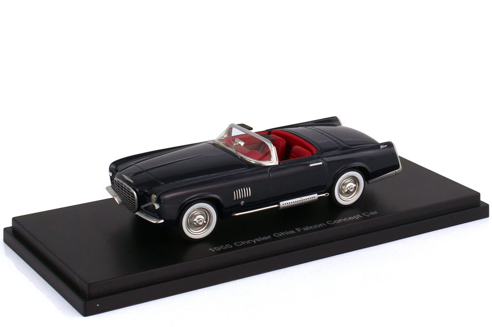 1:43 Chrysler Ghia Falcon Concept Car 1955 dunkelblau