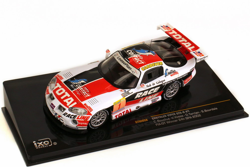 1:43 Chrysler Viper GTS-R 24h Spa 2002