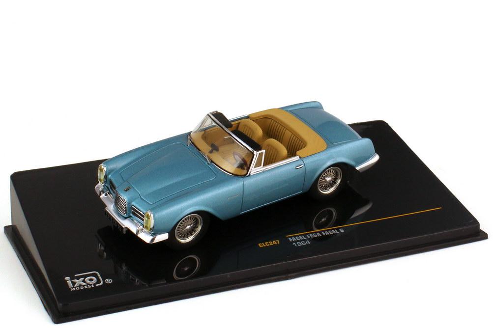 1:43 Facel-Vega Facel 6 Cabrio (1964) blau-met.