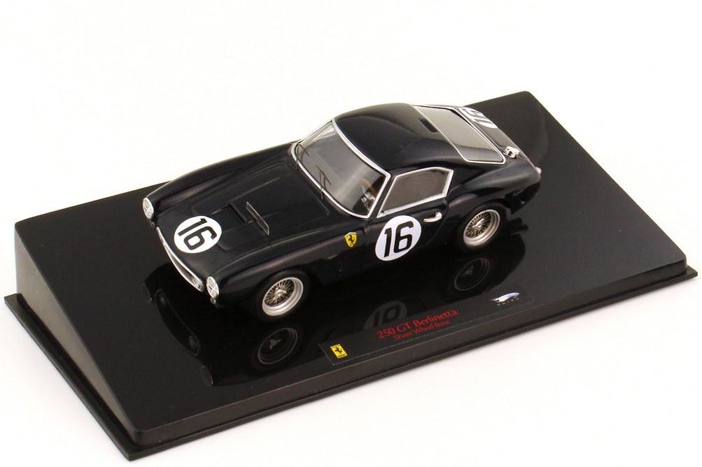 1:43 Ferrari 250 GT Berlinetta SWB schwarz Nr.16