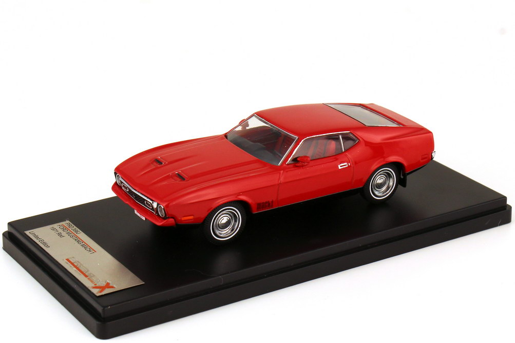 1:43 Ford Mustang Mach I 1971 rot