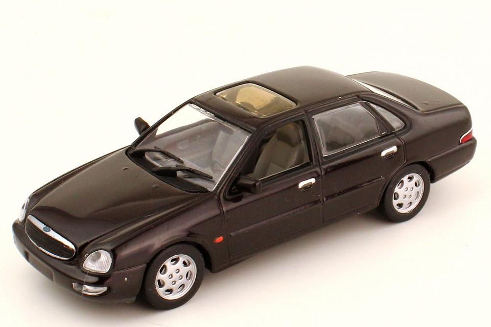 1:43 Ford Scorpio 1995 dunkel-violett (Ford) mit Lackmängeln
