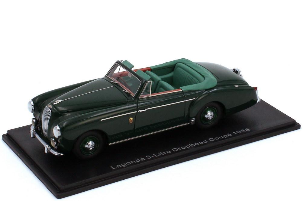 1:43 Lagonda 3 Litre Drophead Coupé 1956 dunkelgrün