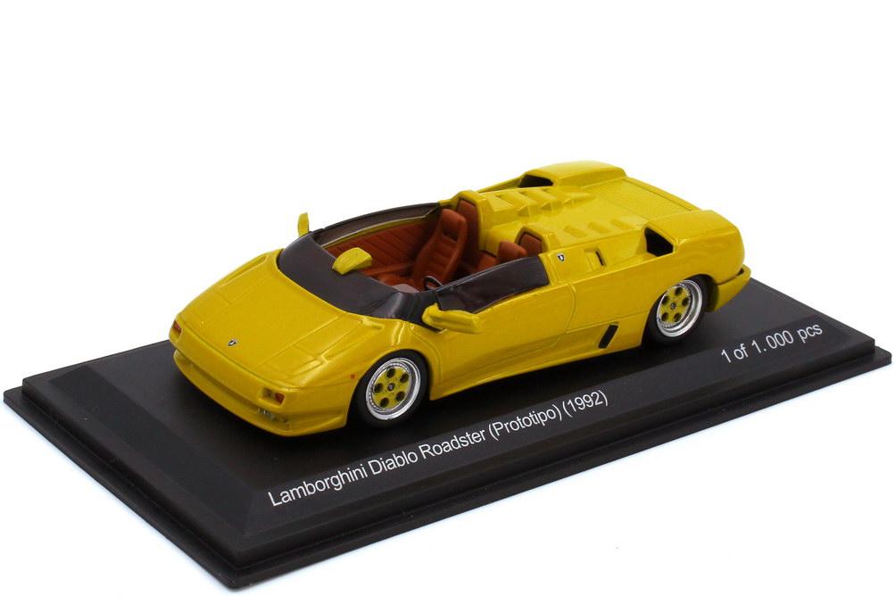 1:43 Lamborghini Diablo Roadster (Prototipo 1992) senfgelb-met.