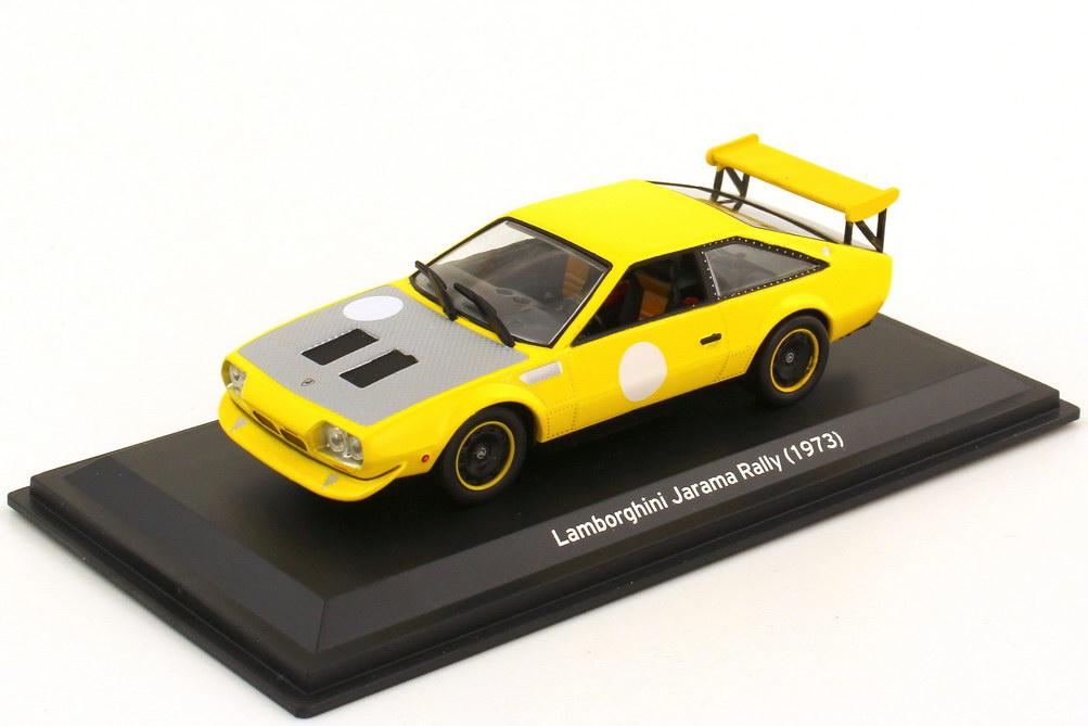 1:43 Lamborghini Jarama Rallye 1973 gelb