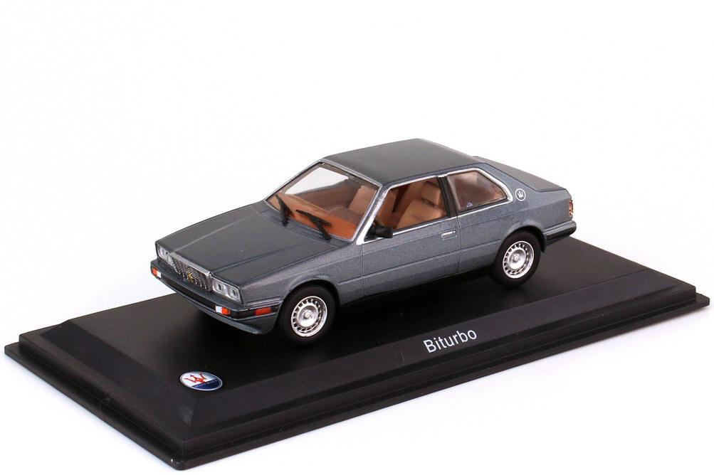 1:43 Maserati Biturbo grau-met.