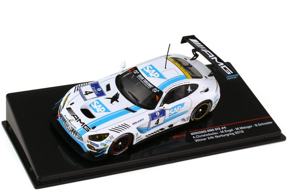 1:43 Mercedes-AMG GT3 (C190) 24h Nürburgring 2016