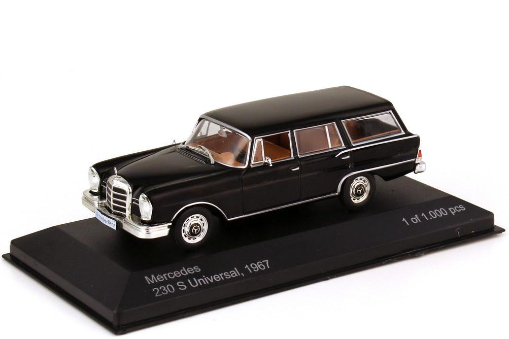 1:43 Mercedes-Benz 230S Universal (W111, 1967) schwarz
