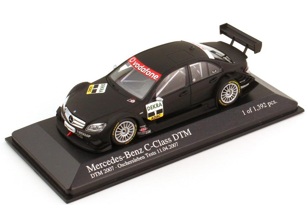 1:43 Mercedes-Benz C-Klasse (W204) DTM 2007 Test Car mattschwarz