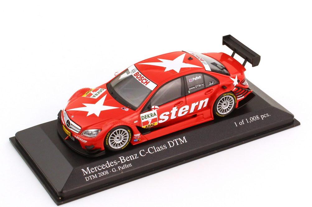 1:43 Mercedes-Benz C-Klasse (W204) DTM 2008