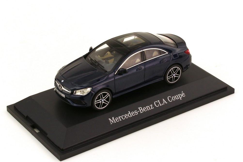 1:43 Mercedes-Benz CLA-Klasse (C117) AMG-Line cavansitblau-met. (MB)