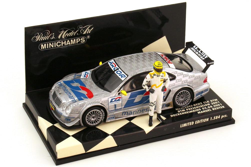 1:43 Mercedes-Benz CLK DTM 2001