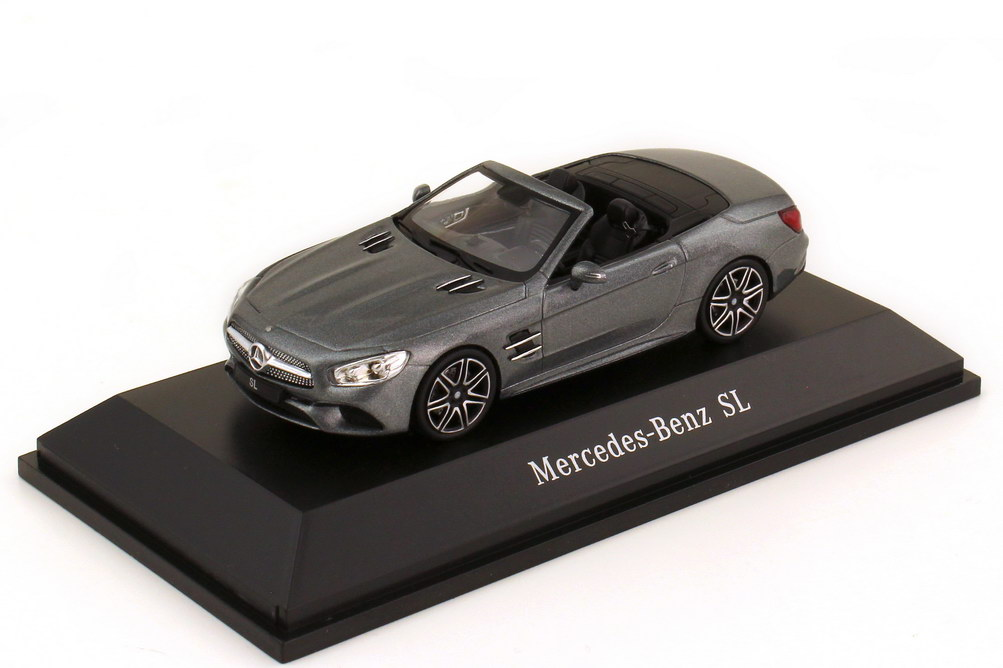1:43 Mercedes-Benz SL-Klasse 2017 (R231 MOPF) selenitgrau-met. (MB)