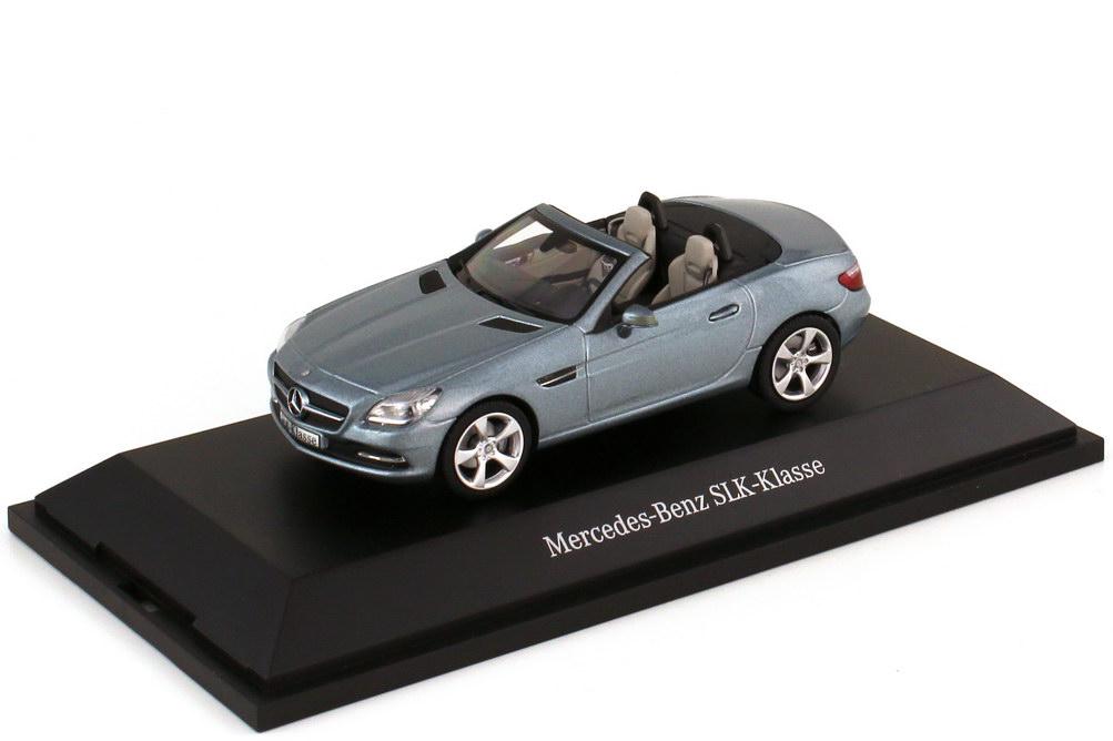 1:43 Mercedes-Benz SLK (R172) galenitsilber-met. (MB)