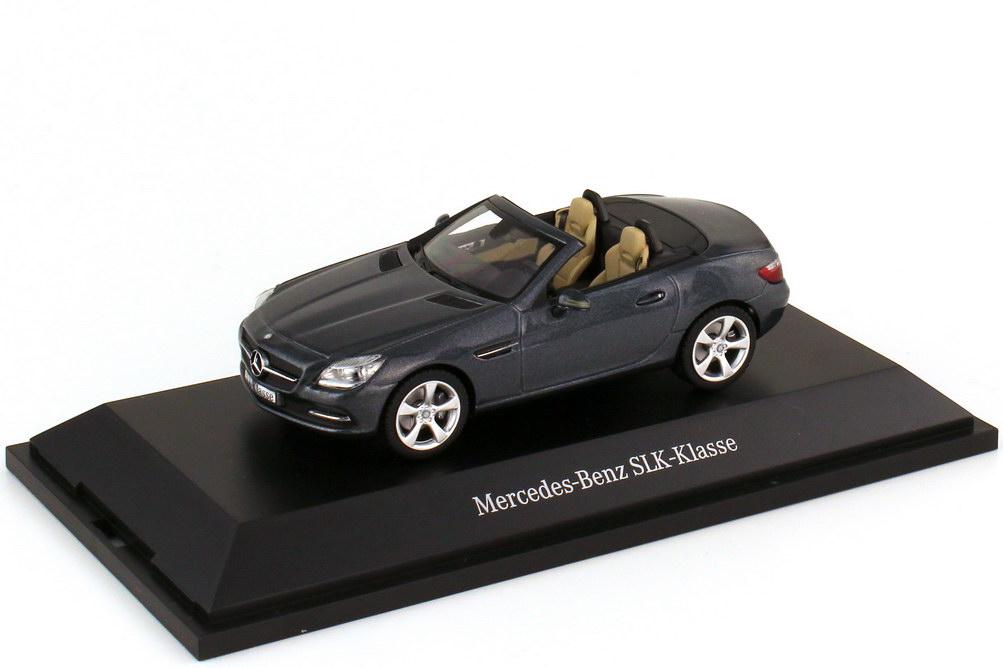 1:43 Mercedes-Benz SLK (R172) tenoritgrau-met. (MB)