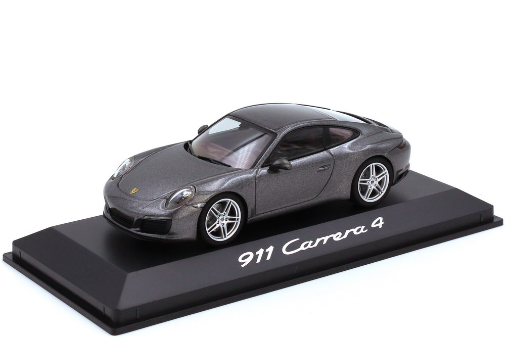 1:43 Porsche 911 Carrera 4 (Typ 991.2) achatgrau-met. (Porsche)