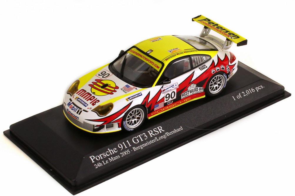 1:43 Porsche 911 GT3 RSR (996) 24h Le Mans 2005