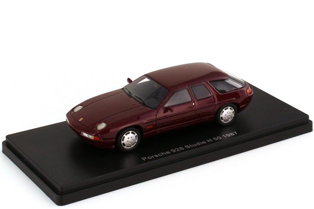 1:43 Porsche 928 H 50 (Studie 1987) dunkelrot-met.