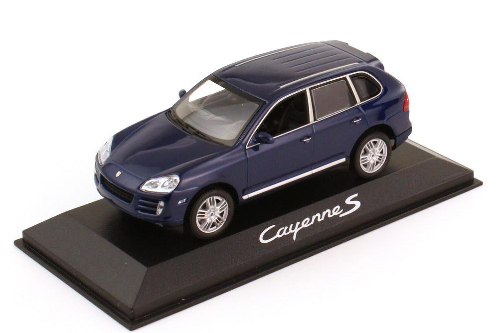 1:43 Porsche Cayenne S 2007 (Typ 9PA Facelift) blau-met. (Porsche)