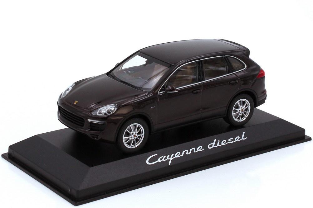 1:43 Porsche Cayenne diesel (Typ 92A Facelift) mahagoni-met. (Porsche)