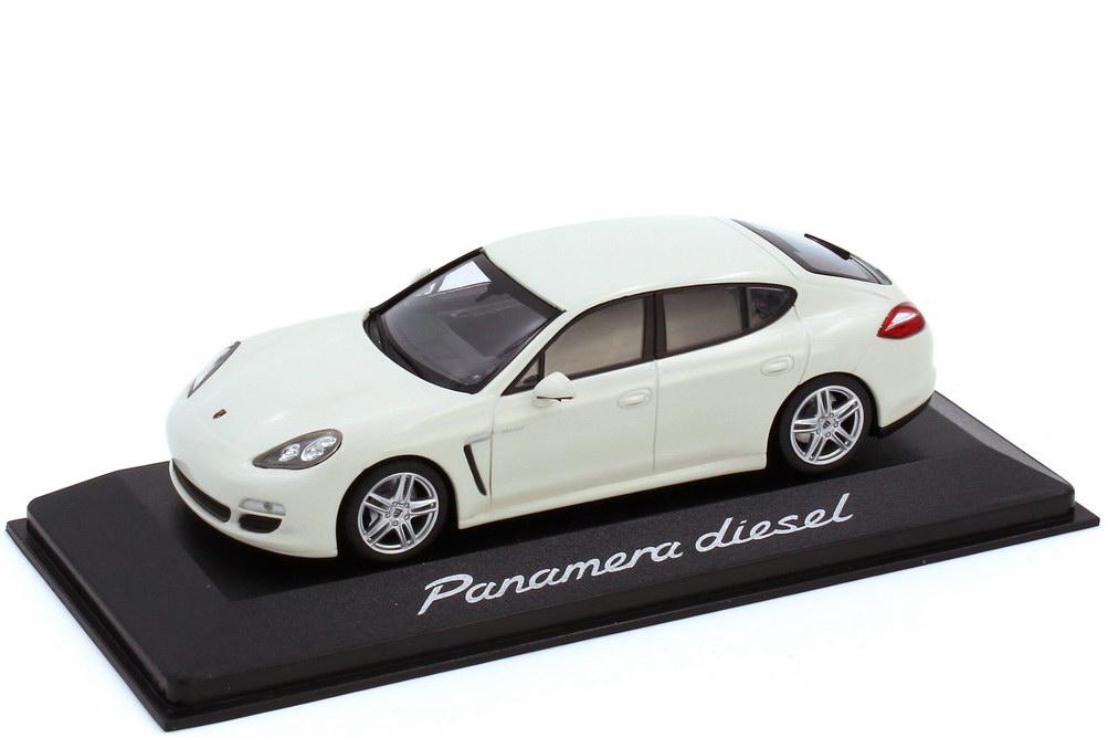 1:43 Porsche Panamera Diesel (Typ 970) weiß (Porsche)