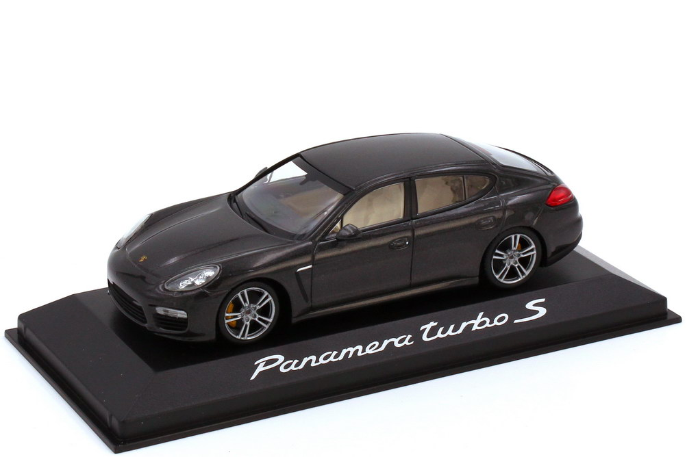 1:43 Porsche Panamera turbo S (Typ 970 Facelift) carbongrau-met. (Porsche)