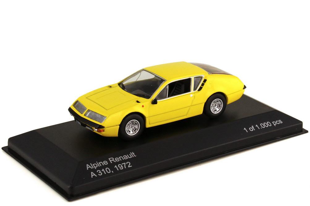 1:43 Renault Alpine A310 1600 gelb