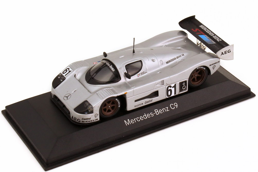 1:43 Sauber Mercedes-Benz C9 WSC 1989 Nr.61, Mauro Baldi / Kenny Acheson (MB)