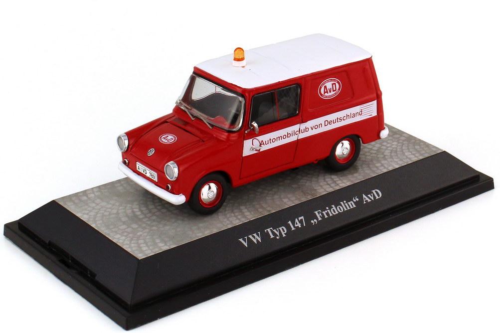 1:43 VW Fridolin (Typ 147) Kasten