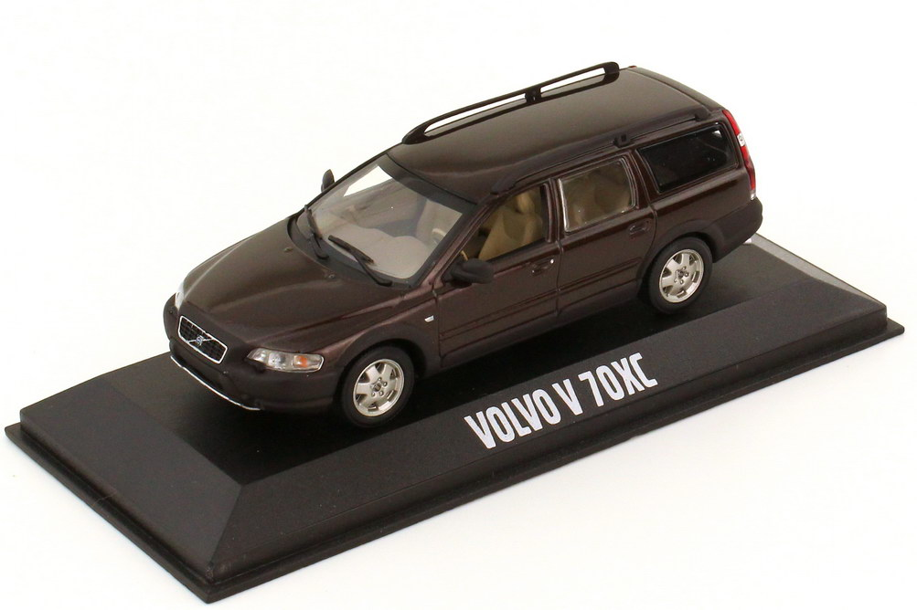 Foto 1:43 Volvo V70 XC Kombi java-braun-met. Werbemodell Minichamps VFL9566/433171274