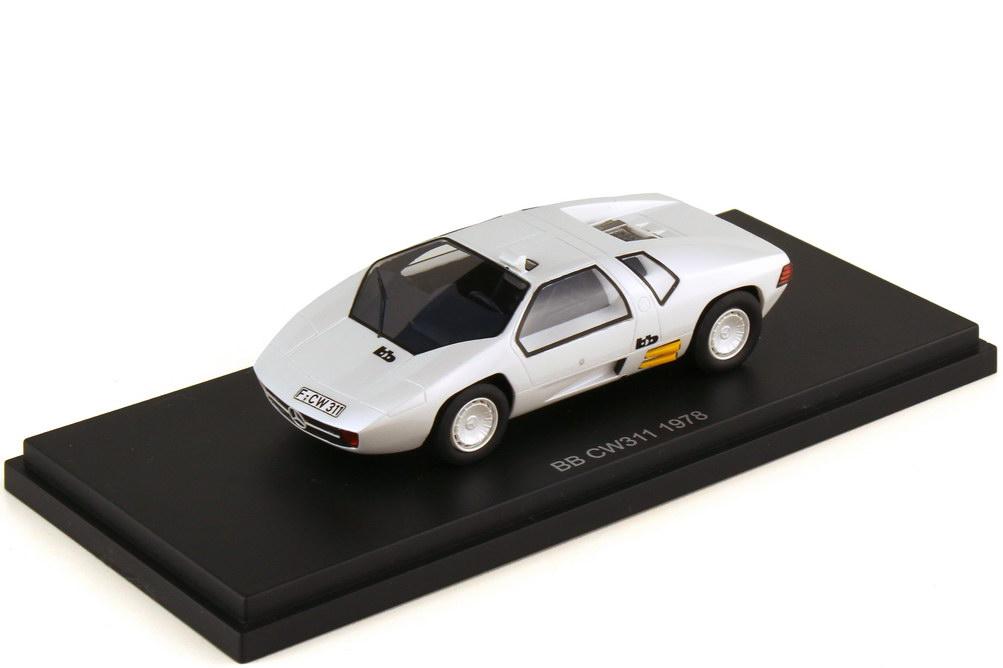 1:43 bb Mercedes CW311 (1978) weiß perleffekt