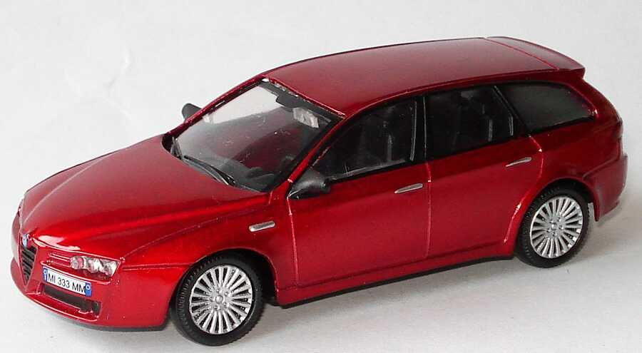 1 43 alfa romeo 159 sportwagon weinrot met mondo motors for M i motors