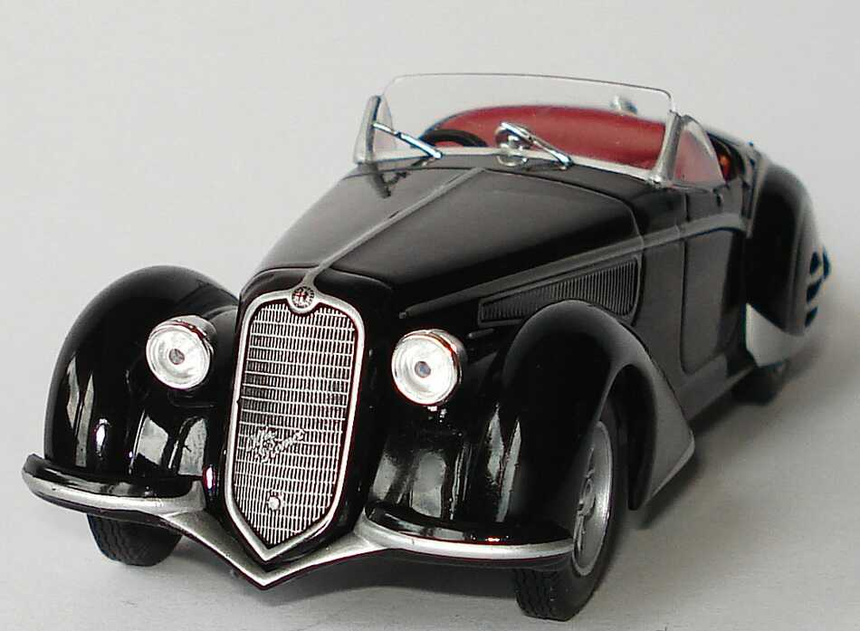 alfa romeo 8c 2900b 1938 schwarz ixo bild 3. Black Bedroom Furniture Sets. Home Design Ideas