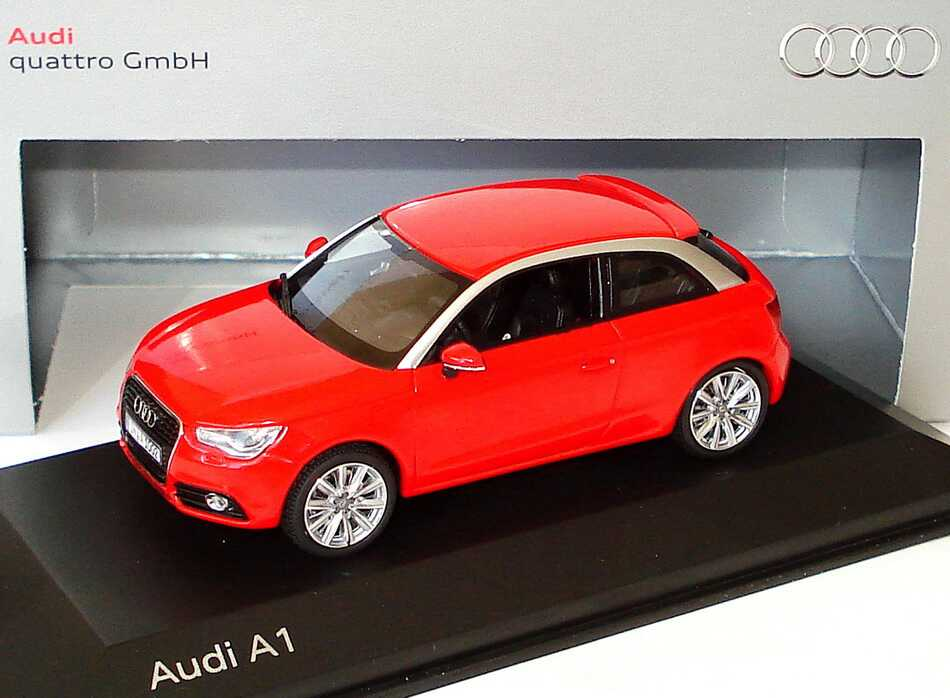 1 43 audi a1 2010 rouge misano rouge rouge edition. Black Bedroom Furniture Sets. Home Design Ideas
