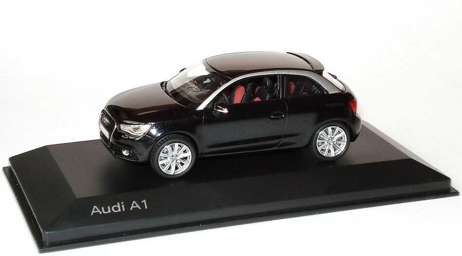 audi a1 phantomschwarz met werbemodell kyosho 5011001033 bild 2. Black Bedroom Furniture Sets. Home Design Ideas