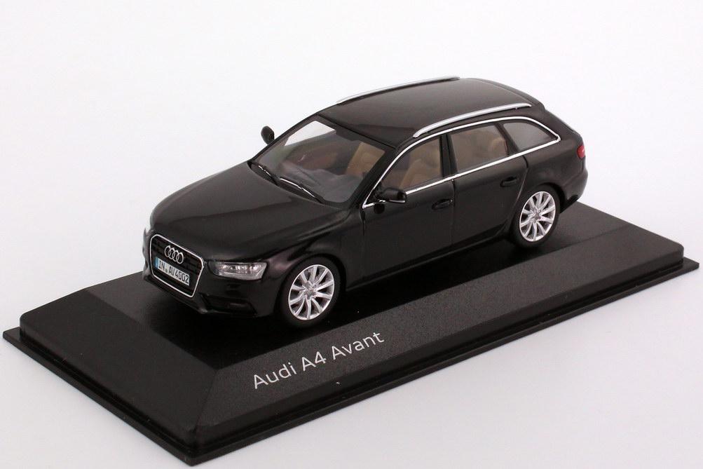 1 43 Audi A4 Avant B8 Faclift 2012 Phantom Schwarz Met