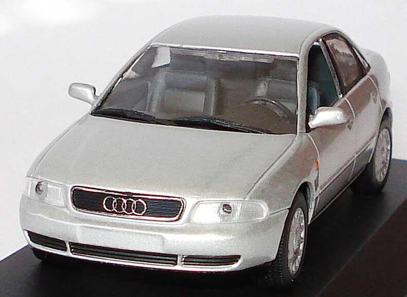 Audi A4 B5 Lichtsilber Met Werbemodell Minichamps Bild 2