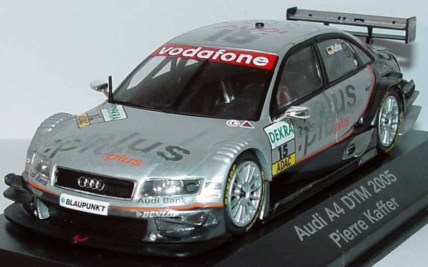 1 43 audi a4 dtm 2005 nr 15 pierre kaffer dealer edition. Black Bedroom Furniture Sets. Home Design Ideas