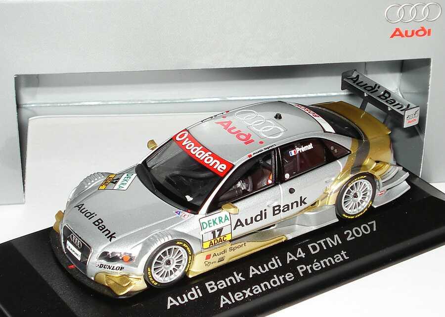 1:43 Audi A4 DTM 2007